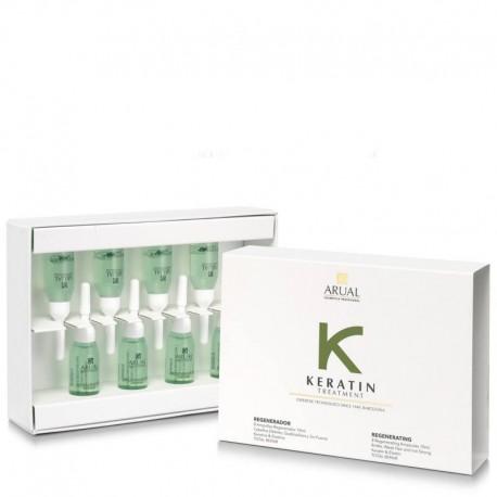 Arual Keratin Treatment ampulės 8 x 10 ml