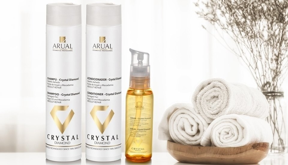 Arual professional cosmetics since 1949 crystal diamond line