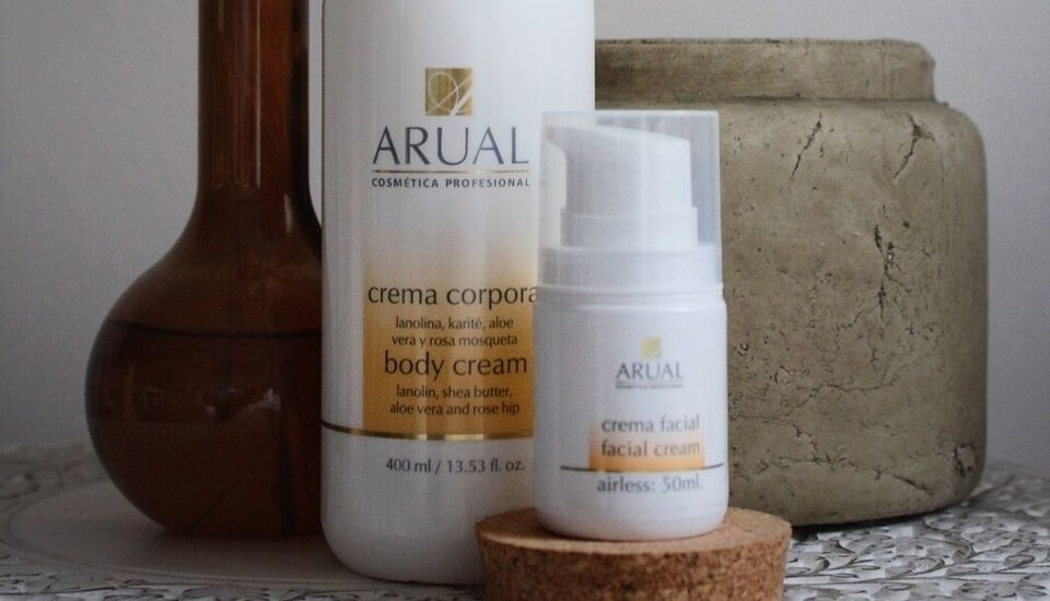 Arual professional cosmetics since 1949 body and face creams
